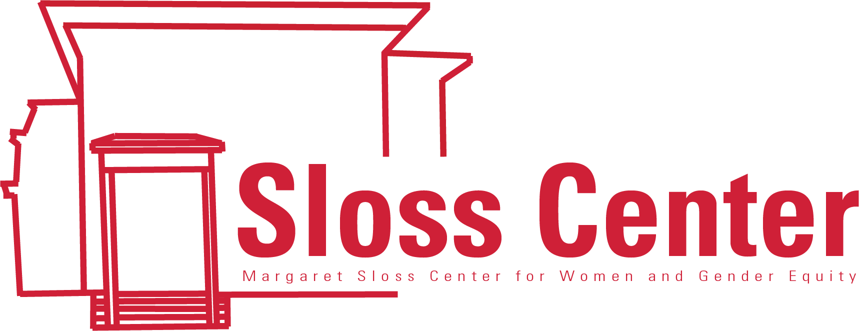 Margaret Sloss Women's Center logo in cardinal