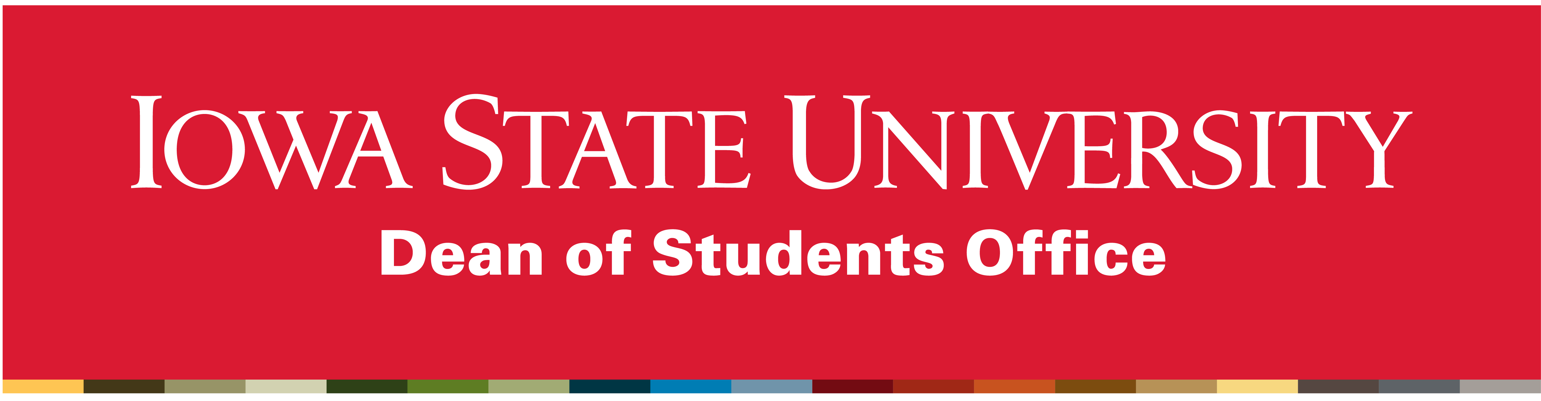 Dean of Students Office wordmark