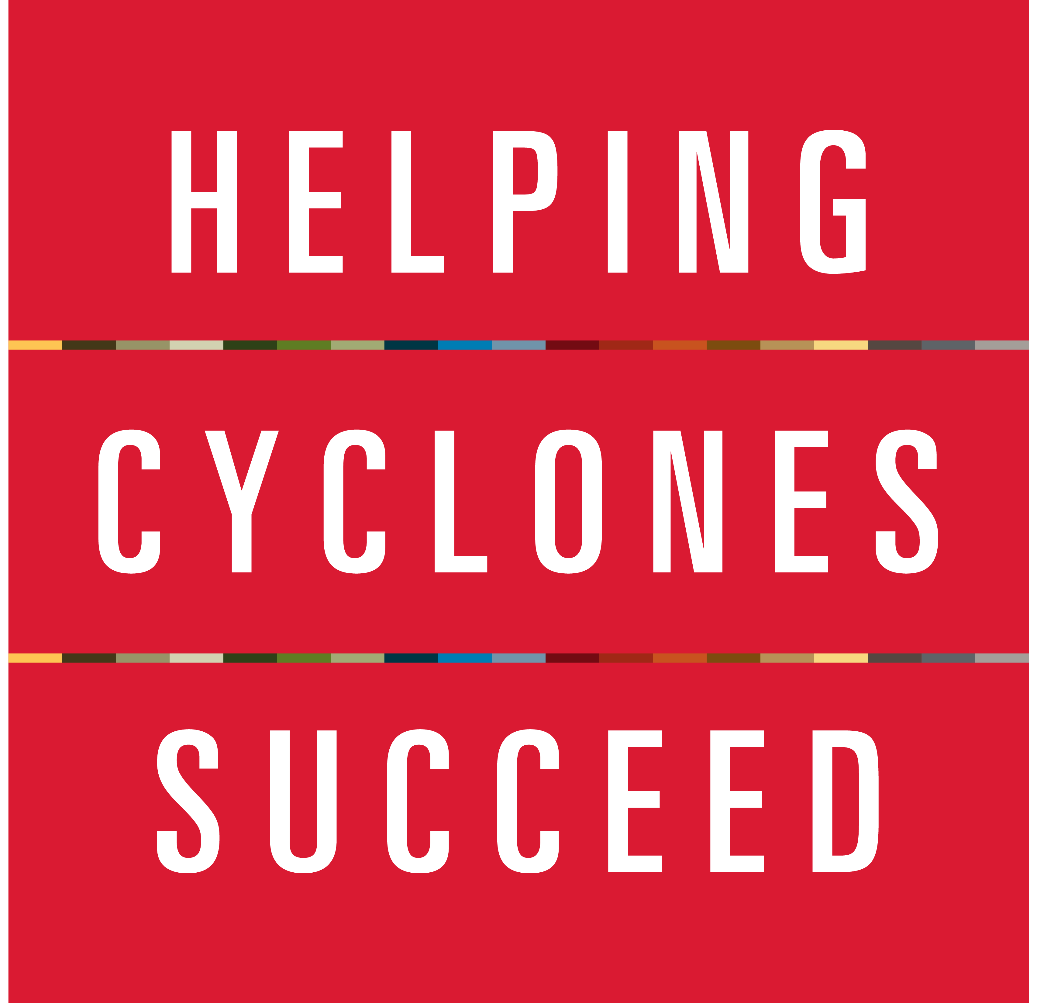 Helping Cyclones Succeed