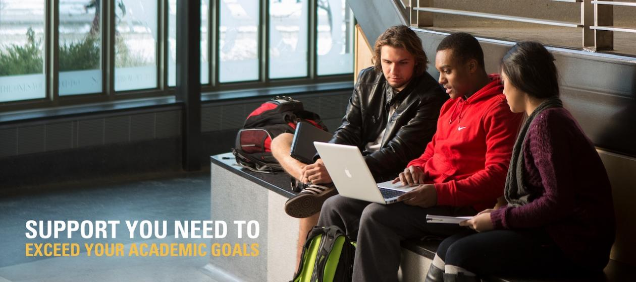 Support You Need To Exceed Your Academic Goals